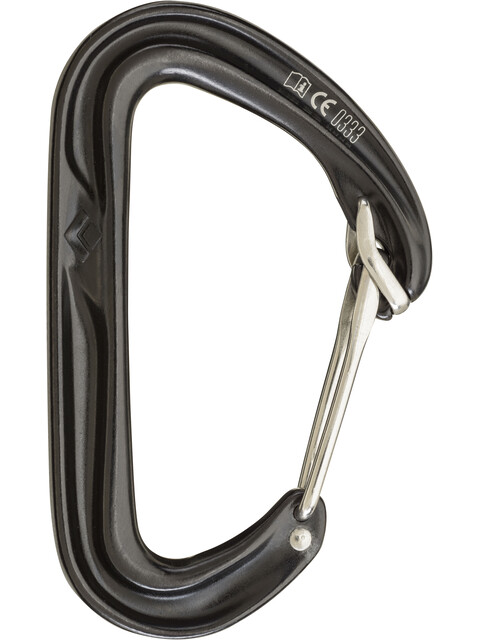 Black Diamond Hoodwire Carabiner Black